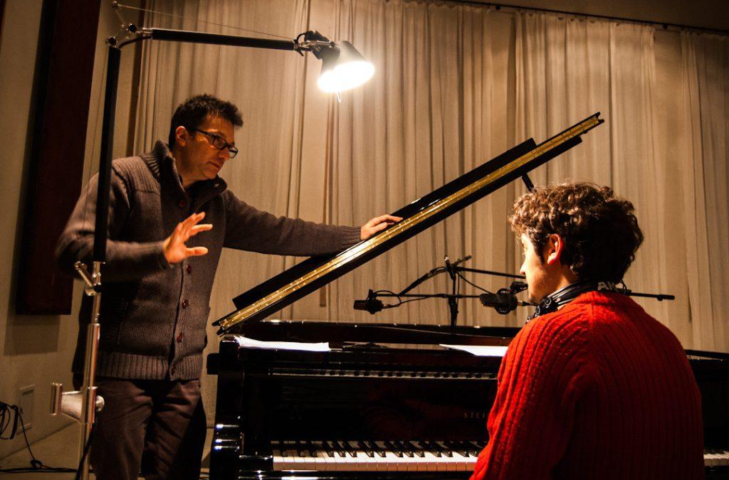 Paolo Buonvino – Mi Rifaccio Vivo – Soundtrack recording session