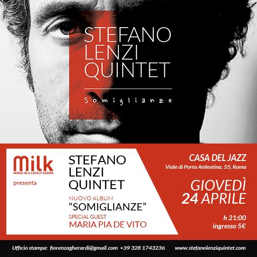 Stefano Lenzi Quintet Live a Casa Del Jazz