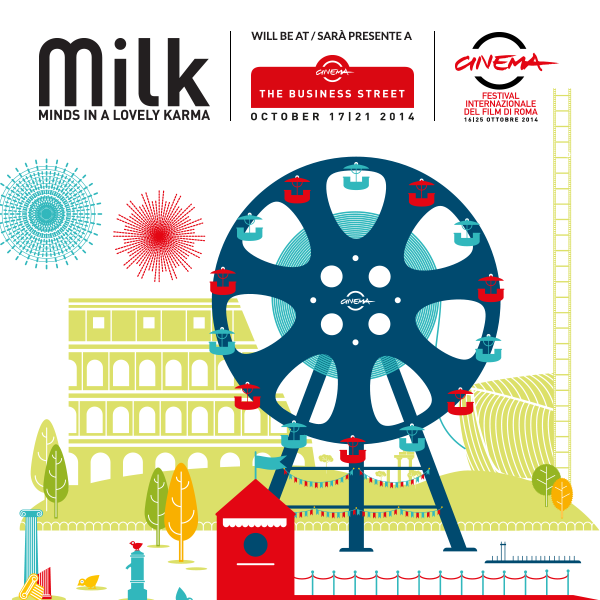 MILK at the The Business Street – Festival Internazionale del Film di Roma 2014