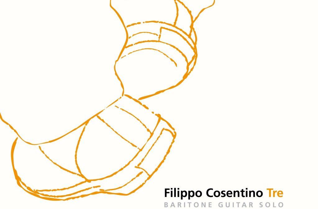 E' uscito Tre, il nuovo album di Filippo Cosentino