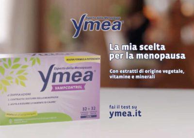 Ymea Spot TV con testimonial Maria Grazia Cucinotta