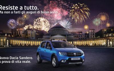 Spot Tv Dacia con Salvatore Esposito