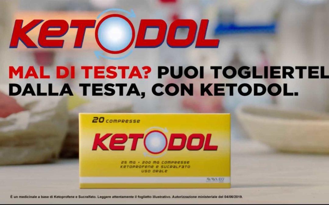 Voice-over e doppiaggio per il nuovo spot di Ketodol